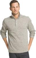 Van Heusen Big & Tall Classic-Fit Mockneck Fleece Sweater