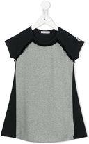 Moncler bicolour T-shirt dress - kids - Cotton/Elastodiene - 4 yrs