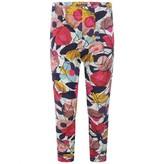 Catimini CatiminiGirls Multi-Coloured Floral Print Leggings