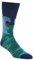 Bugatchi Men's Surfer Socks