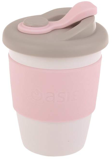Oasis Eco-Cup Biodegradable Pink 340ml