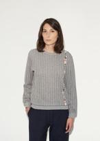 Julien David Pinstripe Sweatshirt
