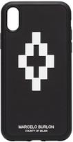 Marcelo Burlon County Of Milan Black 3D Logo iPhone XR Cover