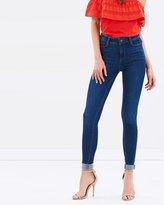 Dorothy Perkins Bailey High Waist Super Skinny Stretch Jeans