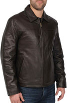 JCPenney R And O New Zealand Lambskin Leather Jacket-Big & Tall