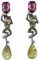 Alexis Bittar 'Elements' Dangling Crystal Frog Earrings