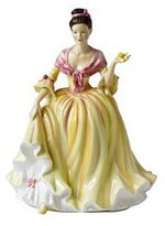 Royal Doulton Royald Doulton Welsh Beauty Pretty Ladies Figurine