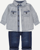 George 3 Piece Shirt, Top and Jeans Set