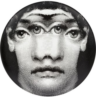 Fornasetti Mirrored Eyes Plate