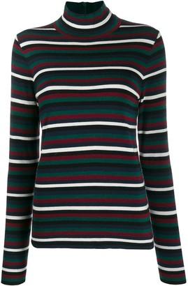 Tory Burch stripe print jumper