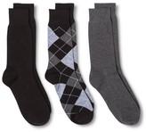 Merona Casual Socks Black 10-13