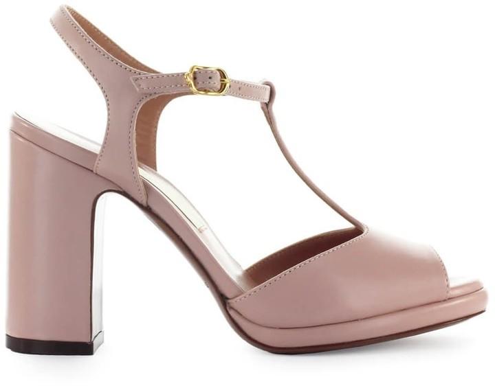 78acdcb82c6 Lautre Chose Powder Pink Leather Sandal