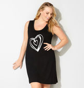 Avenue Silver Heart Chemise