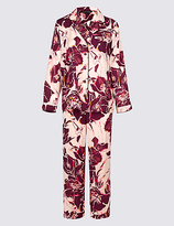 Rosie For Autograph Satin Floral Print Pyjamas