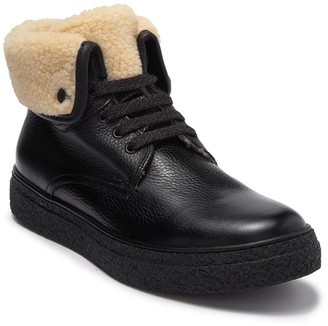 Kenneth Cole New York Lace-Up Wool Lined Boot