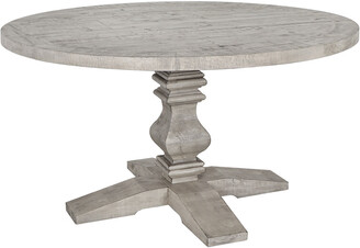 Classic Home By Kosas Home Sagrada Round Dining Table 55' Sierra Grey