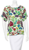 See by Chloe Floral Short Sleeve Top