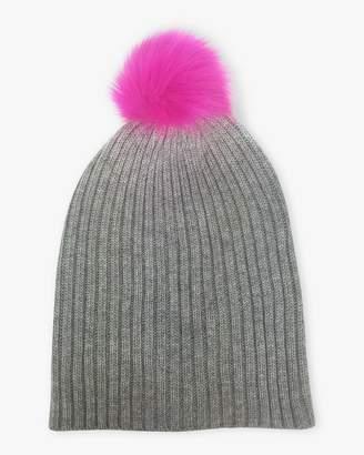 Hat Attack Perfect Faux Fur Pom Pom Beanie