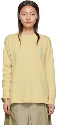 Loewe Yellow Wool Anagram Sweater