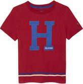 Tommy Hilfiger Felt logo cotton t-shirt 4-16 years