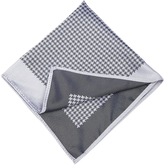 Oxford Pocket Square Silk Chk