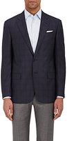 Giorgio Armani Men's Overplaid Virgin Wool Sportcoat