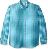 Dockers Long-Sleeve Grid Button-Front Shirt with Pocket