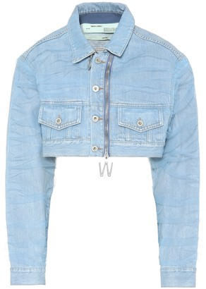 Off-White Off White Cropped denim jacket