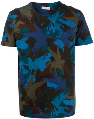 Etro winged-horse print T-shirt