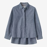 Toast Chambray Cotton Shirt