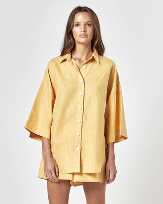 Charlie Holiday Harlow Oversized Shirt