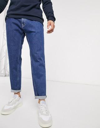 Esprit slim fit jean in vintage wash blue