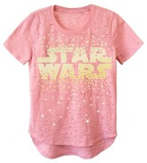 Star Wars Girls' Short Sleeve Tee - Coral L