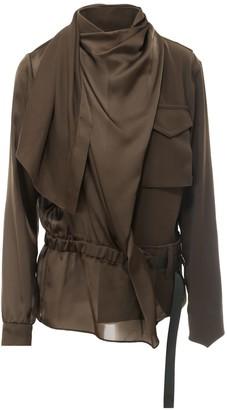 Sacai Draped Belted Shirt