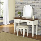 Home Styles Americana 2-piece Vanity and Bench Set