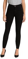 Thumbnail for your product : Jen7 by 7 for All Mankind Stud Pocket Skinny Jeans in Black