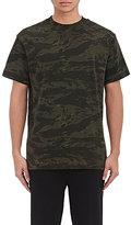 Alexander Wang Men's Camouflage Cotton T-Shirt