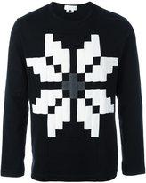 Comme des Garcons 'Snowflake' sweatshirt