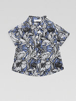 Gucci Infant's Floral Watercolor Shirt