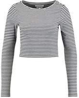 NATIVE YOUTH BIRCH CROP Long sleeved top black/grey