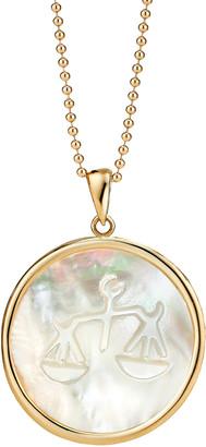 Ashley McCormick Libra 18K Gold Pendant