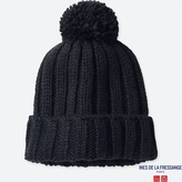Uniqlo WOMEN IDLF Knitted Beanie
