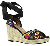 J. Renee Alysbeach Espadrille Wedge Sandals