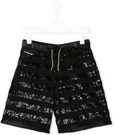 Diesel sequin embellished shorts
