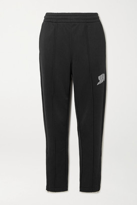 Alexander Wang French Terry Track Pants - Black