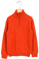 Oscar de la Renta Boys' Wool Long Sleeve Sweater