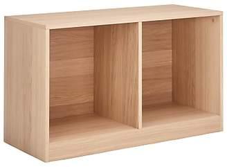 House by John Lewis Cube 1 x 2 Unit, FSC-Certified (Oak Veneer)