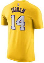 Nike Men's Brandon Ingram Los Angeles Lakers Name & Number Player T-Shirt