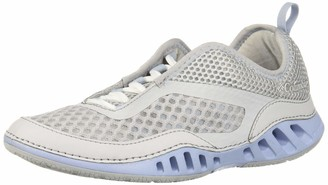 Columbia Women's Drainmaker-3D Water Shoes Grey (Ti Grey Steel Red Coral 033) 7.5 UK 40.5 EU