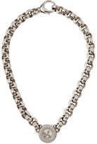 Chopard Estate Estate 18k Diamond Link Pendant Necklace